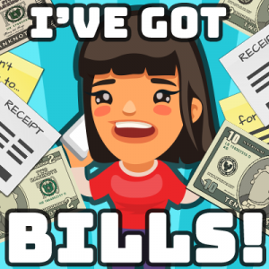 I've Got Bills! Logo