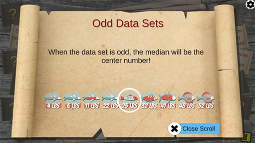 Odd Data Sets Scroll